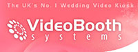 Wedding video kiosks from Video Booth Systems